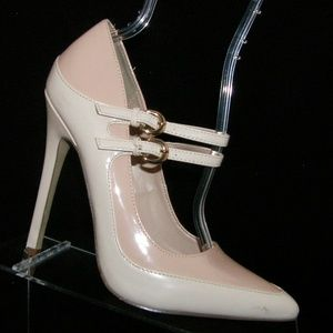 Signature by Shoedazzle 'Lucella' pink heels 8M